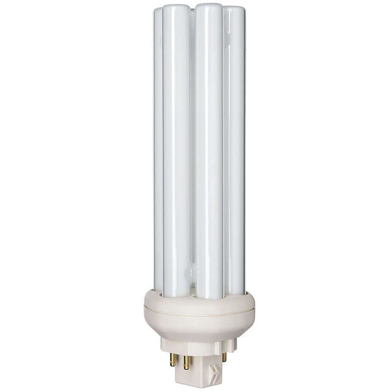 Philips 42w Triple Tube 4-Pin GX24q-4 3000k Warm White Fluorescent Light Bulb