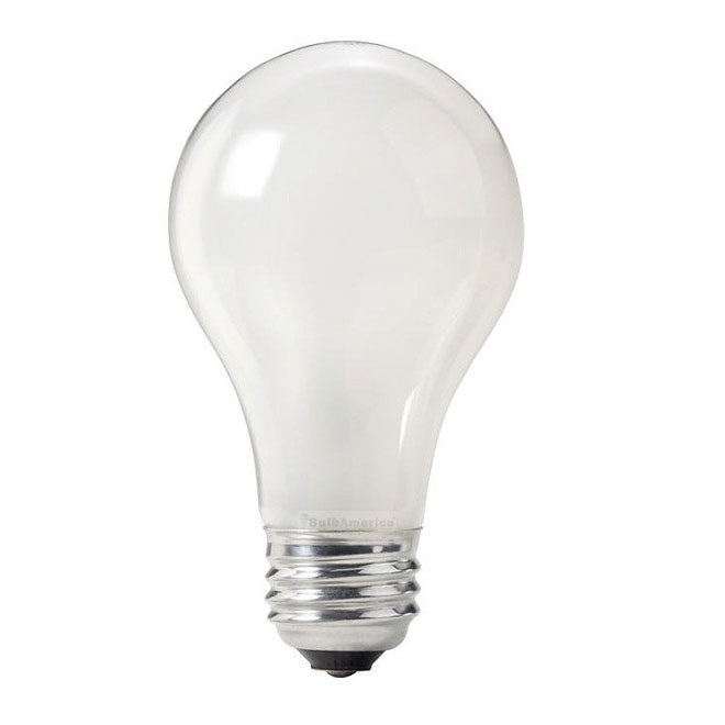 Philips 60w 130v A-Shape A19 Frosted Industrial Service Incandescent - 2 Bulbs