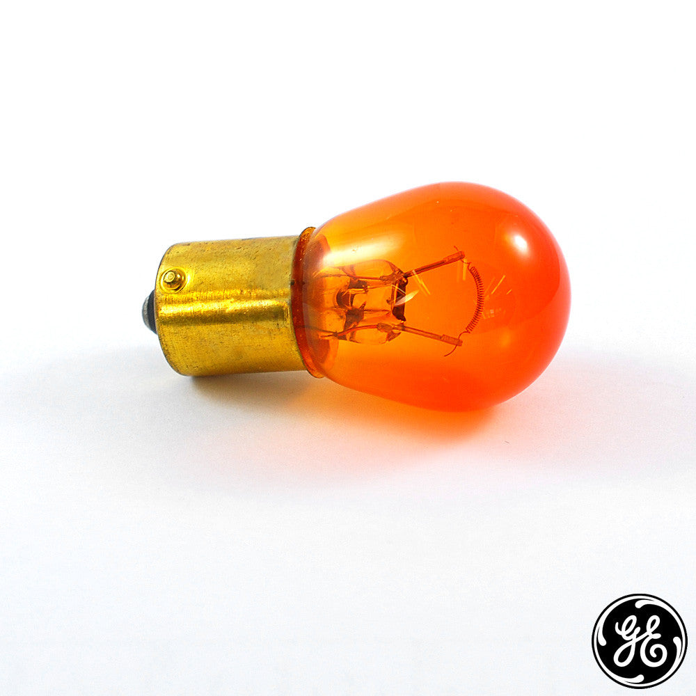 GE 1295 NA - Amber 38w S8 12.5v Automotive Light Bulb