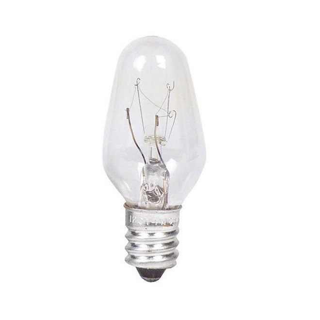 Philips 4w 120v C7 Night Light E12 Incandescent Light Bulb - 4 Pack