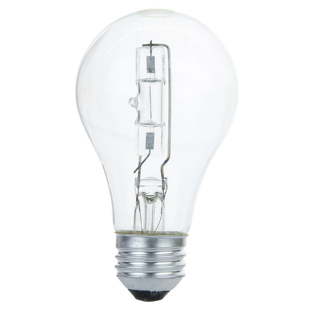 SUNLITE 42w A19 E26 Medium Base 3200K Clear Halogen Lamp