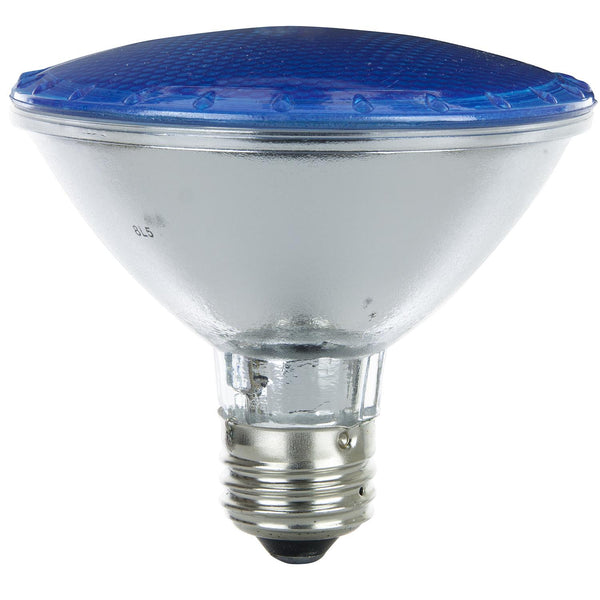 Sunlite 80190 Su Led Mr16 Reflector Medium Base Bulb: Sunlite 75w PAR30 Narrow Flood 30 Deg. Medium Base Colored