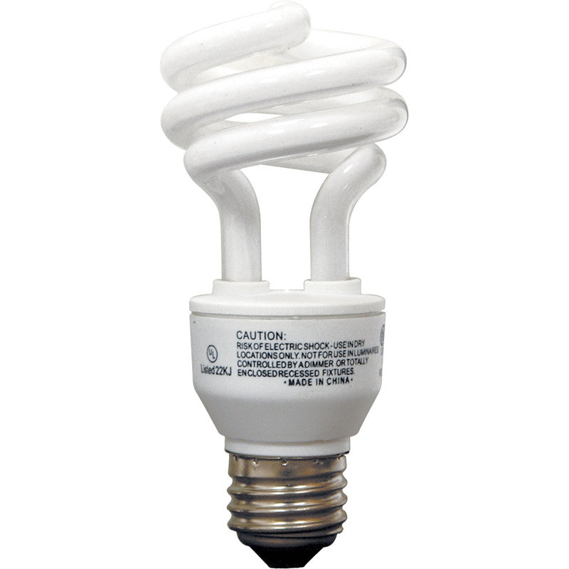 GE 14w T3 Compact Fluorescent 4100K Cool White CFL Light Bulb