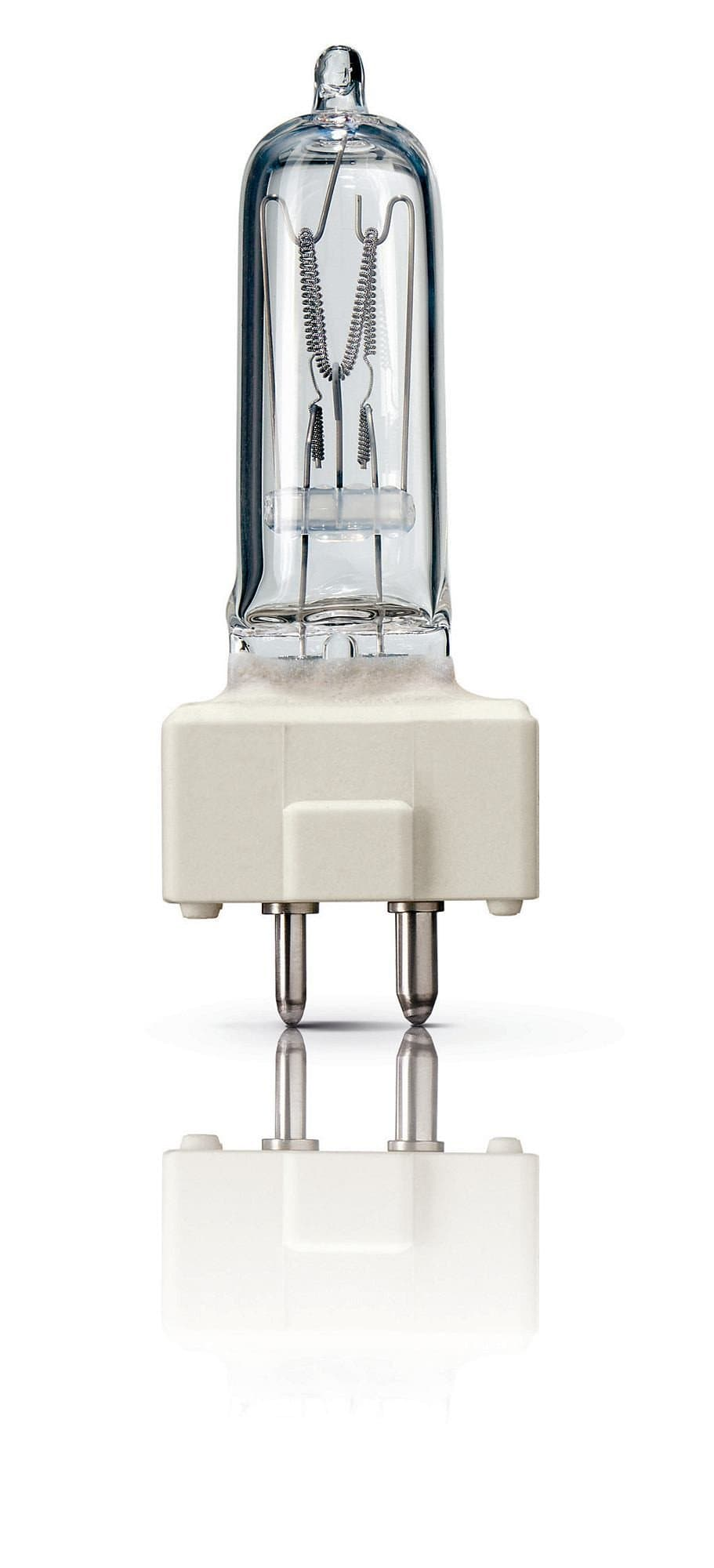 Philips 300w 230v FSL 6872P 3200k GY9.5 Halogen Light Bulb