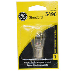 GE 25834 3496 - 27w 12.8v BAY15d T7 Miniature Automotive Incandescent light bulb