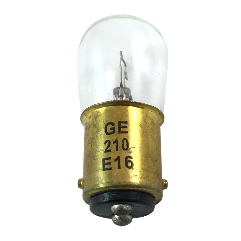 GE 25988 210 12w B6 BA15d 6.5v Miniature Automotive Low Voltage Light Bulb