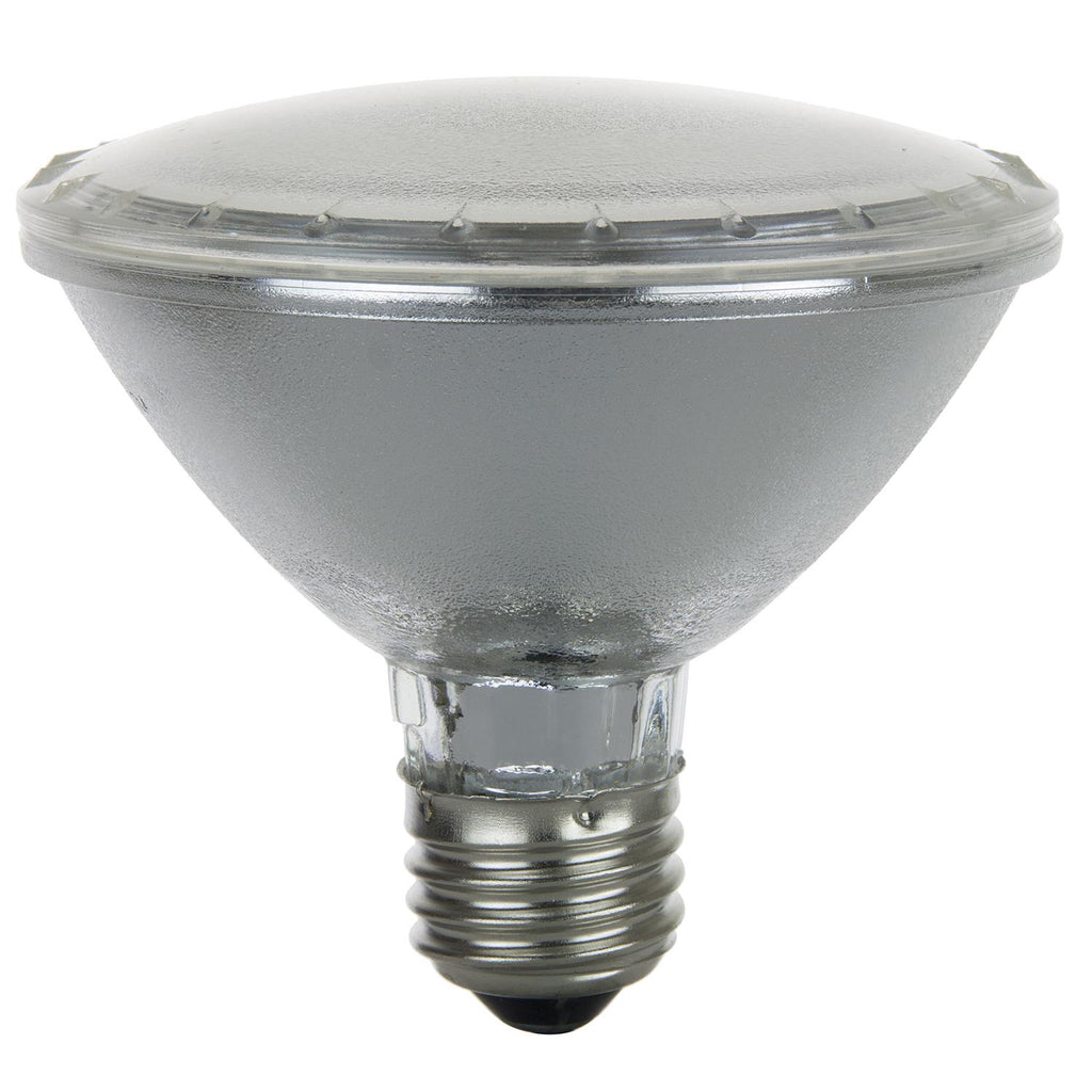 SUNLITE 60w PAR30 Spot Medium Base 3200K Warm White Halogen Lamp