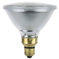 Sunlite 39w PAR38 Narrow Flood Medium Base 3200K Warm White Halogen Lamp