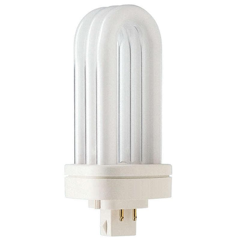 Philips 26w Triple Tube 4-Pin GX24Q-3 Warm White 3000K Fluorescent Light Bulb