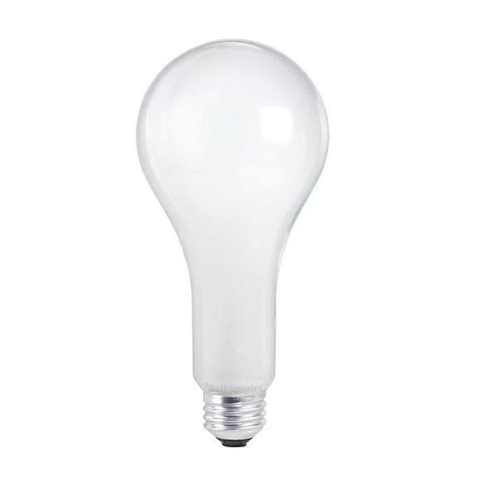 Philips 300w 120v PS25 Frosted E26 Standard Life Incandescent - 2 Bulbs