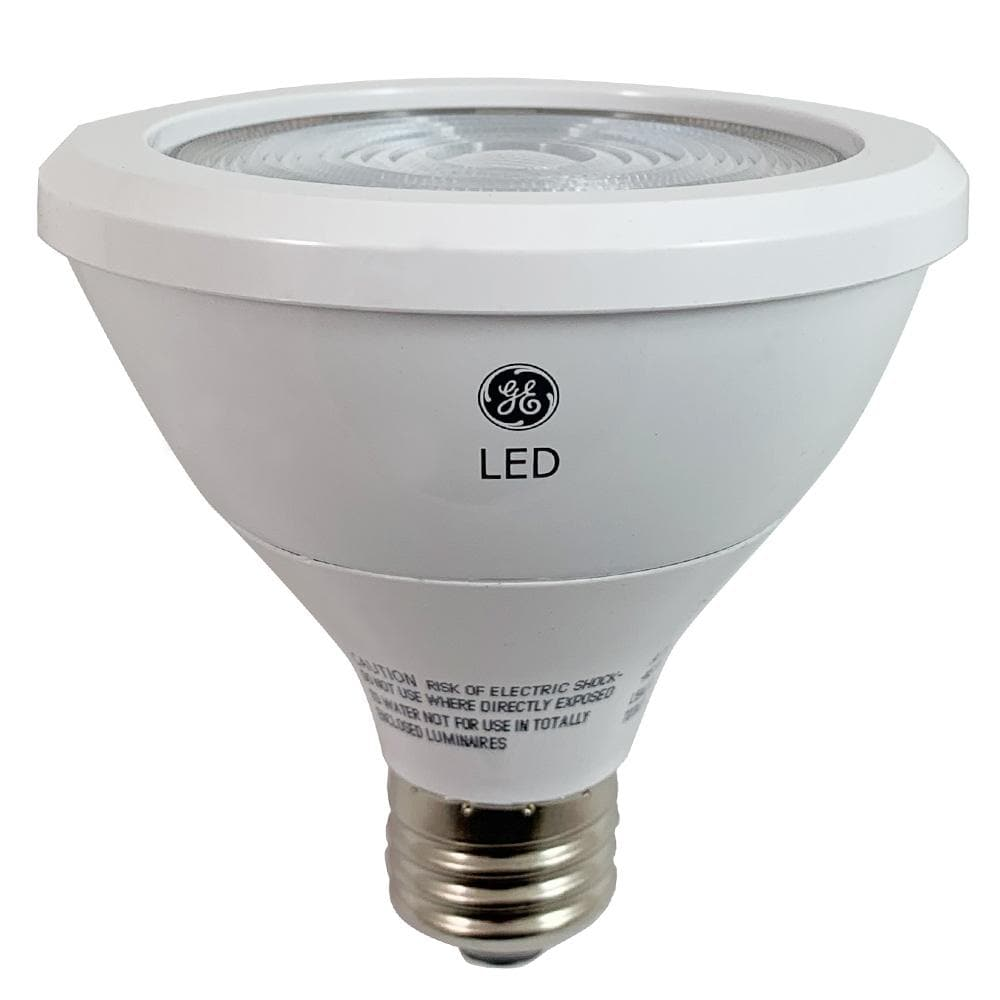 GE 12w PAR30 LED Bulb 3000K Dimmable Narrow Flood 650Lm Light Bulb