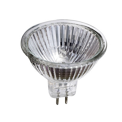 Sylvania 41370 50W 12V MR16 FL36 w/ Front Glass GU5.3 Flood Halogen Light Bulb