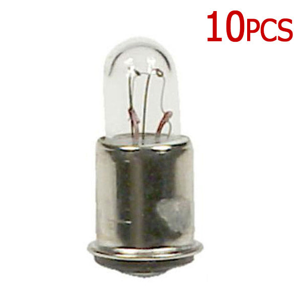 10 Pk - GE  387 - 1w/28v T1.75 Low Voltage Miniature Bulb