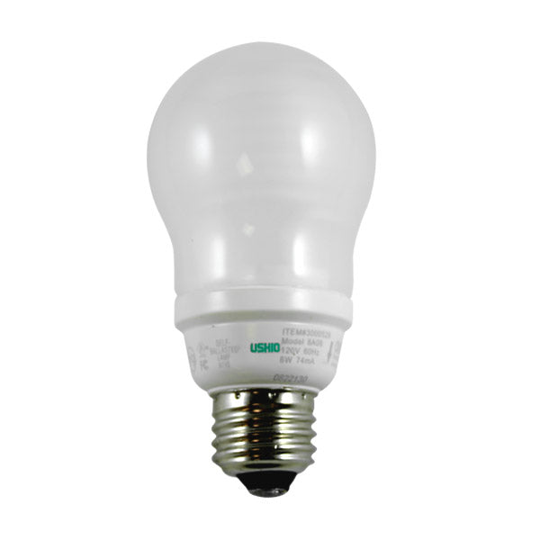 Ushio 8w CF8CC/FR 2700k E26 Base Cold Cathode bulb