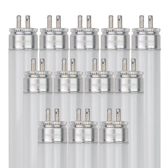 Sunlite 21W Mini Bi-Pin (G5) T5 High Performance Straight Tube 3500K Neutral White