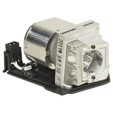 Replacement Lamp Assembly with Genuine Original OEM Bulb Inside for RICOH PJ X3340 Projector Power by Philips