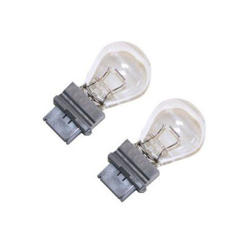 GE 12351 3156 - 27w S8 12.8v Plastic Wedge Miniature Automotive Lamp - 2 Bulbs