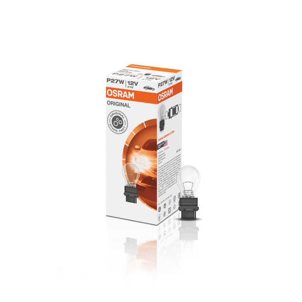 10-PK Osram 3157 P27/7W 12V Original High-Performance Automotive Bulb