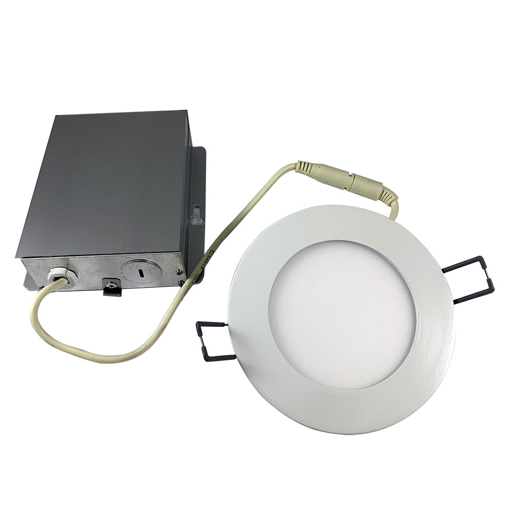 """Philips 4"""" LED Low Profile Round Downlight 700LM 3000K 90CRI Dimmable - 65w equiv"""