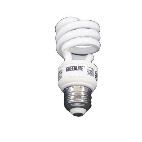 GREENLITE 13W 120V Compact Fluorescent Mini Twist Soft White Light Bulb