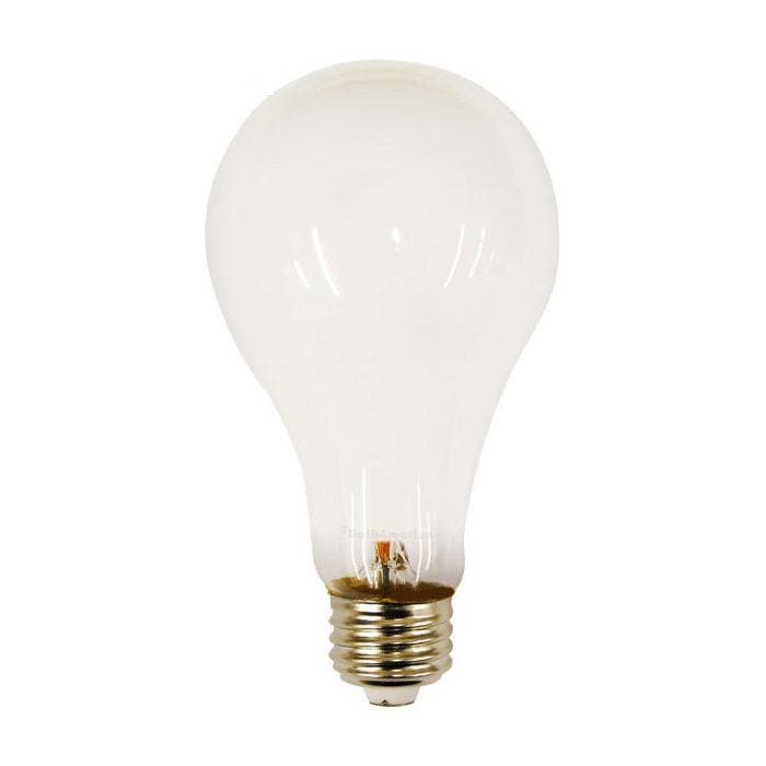 PHILIPS 200W 120V A-Shape A23 E26 Frosted Incandescent - 2 Bulb / Pack