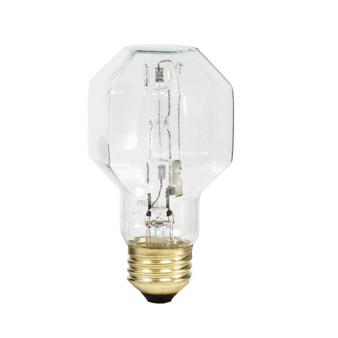 Philips 25w CP19 Clear Decorative Brilliant Crystal Halogen Bulb