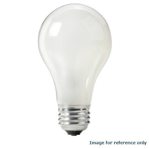 PHILIPS 60W 120V A-Shape A19 Frosted Incandescent - 2 Bulbs / Pack