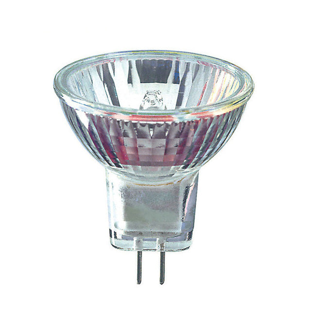 Philips 20w 12v MR11 FTD GU4 Clear Halogen Light Bulb