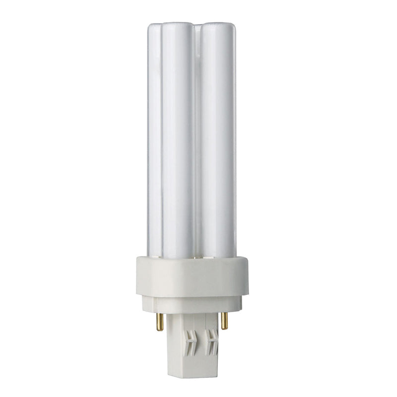 Philips 13w Double Tube 2-Pin GX23-2 3500K White Fluorescent Light Bulb