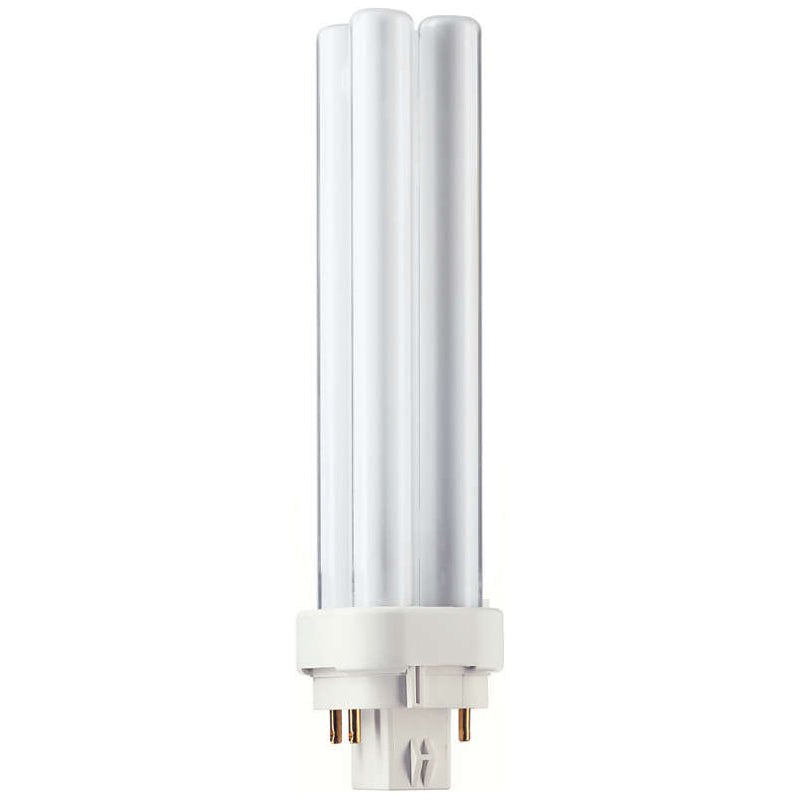 Philips 13w 77v PL-C 13W/30/4P/ALTO Cluster Double Tube 4-Pin Plug-in Fluorescent Light Bulb