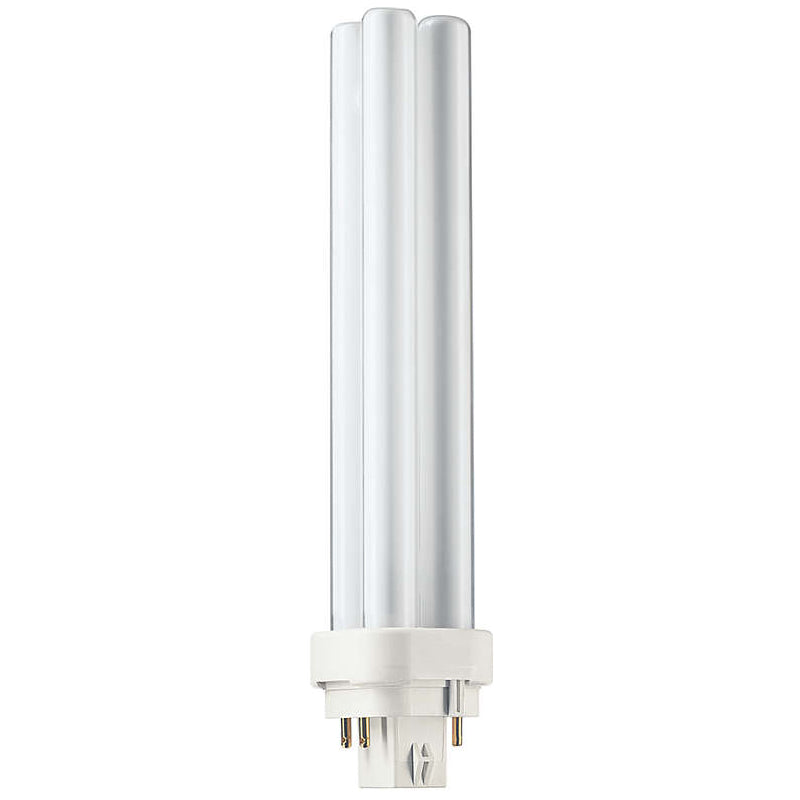 Philips 26w Double Tube 4-Pin G24Q-3 3000K Warm White Fluorescent Light Bulb