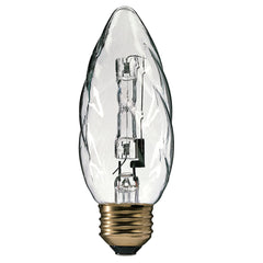 Philips 40w 120v F10.5 2900K E26 Clear Decorative Halogen Light Bulb