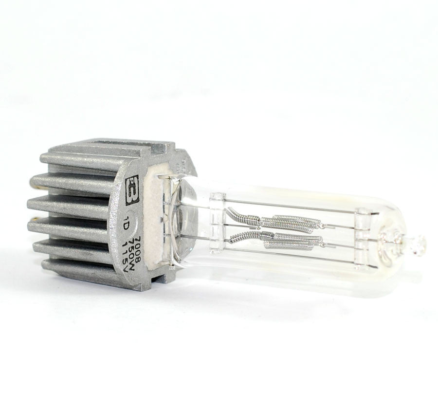 PHILIPS 750W 115V HPL 7008 Heat Sink Halogen Light Bulb