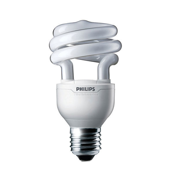 Philips 15w 120v Twist E26 2700K Warm White Fluorescent Light Bulb