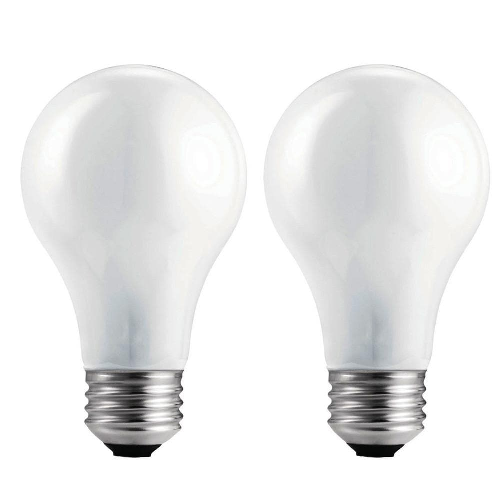 Philips 40w 130v A19 Frosted E26 Incandescent Light Bulb - 2 pack