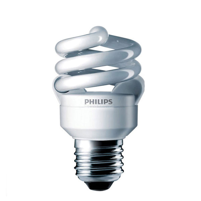 Philips 9w Mini Twist 2700K Warm White Fluorescent Light Bulb
