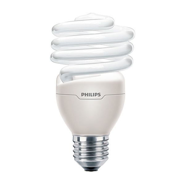 Philips 23w 120v Twist E26 2700K Warm White Fluorescent Light Bulb