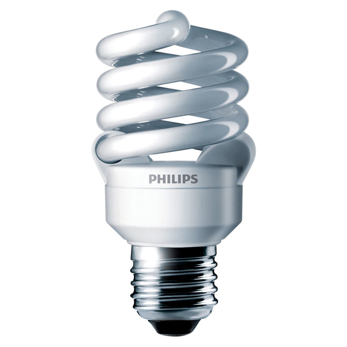 Philips 13w 120v Twist E26 3500k EL/mdT2 Fluorescent Light Bulb