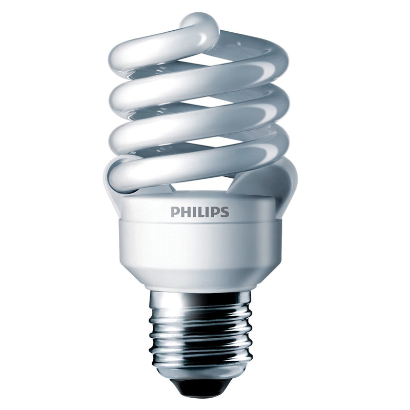 Philips 13w 120v 4100k E26 Twist Cool White Fluorescent Light Bulb