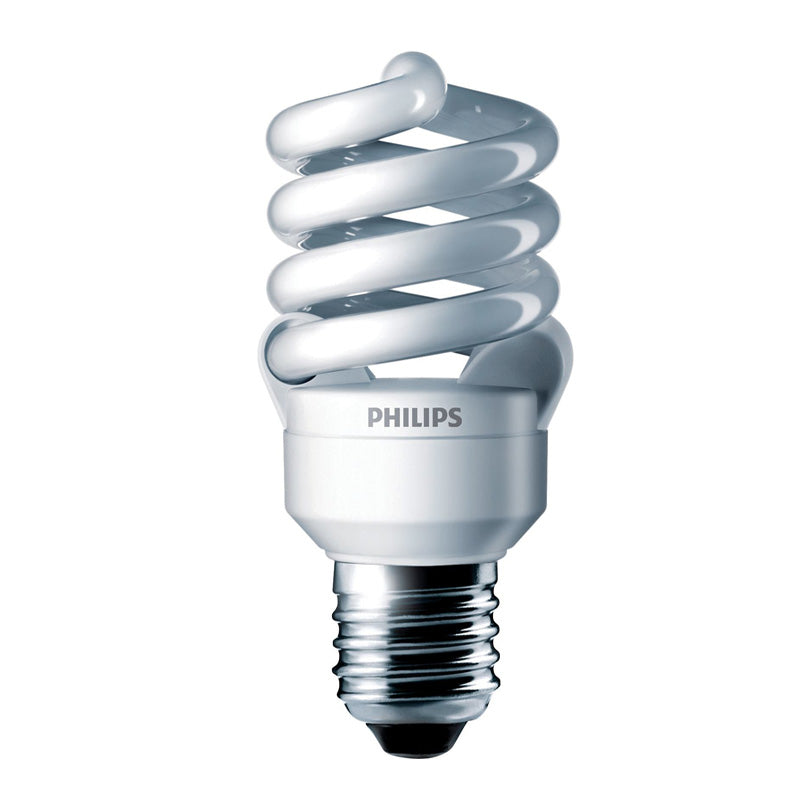 Philips 13w 120v 5000k Twist E26 Daylight Fluorescent Light Bulb