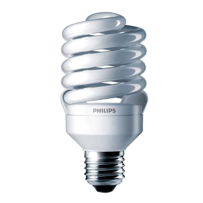 Philips 23w 120v Twist Cool White E26 4100k Cool White Fluorescent Bulb