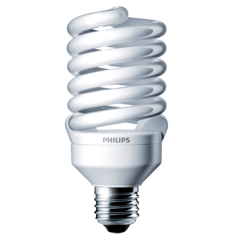 Philips 23w 120v Twist Daylight 5000K E26 Fluorescent Light Bulb