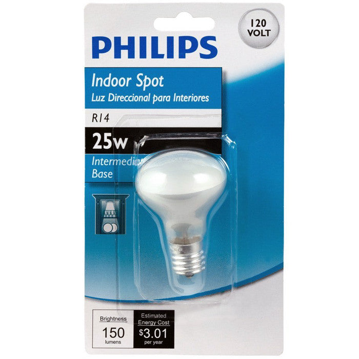Philips 415372 25W R14 Intermediate Base Indoor Spot Light Bulb