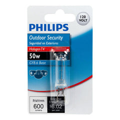 Philips 50W 120V T4 GY8.6 Dimmable Light Bulb