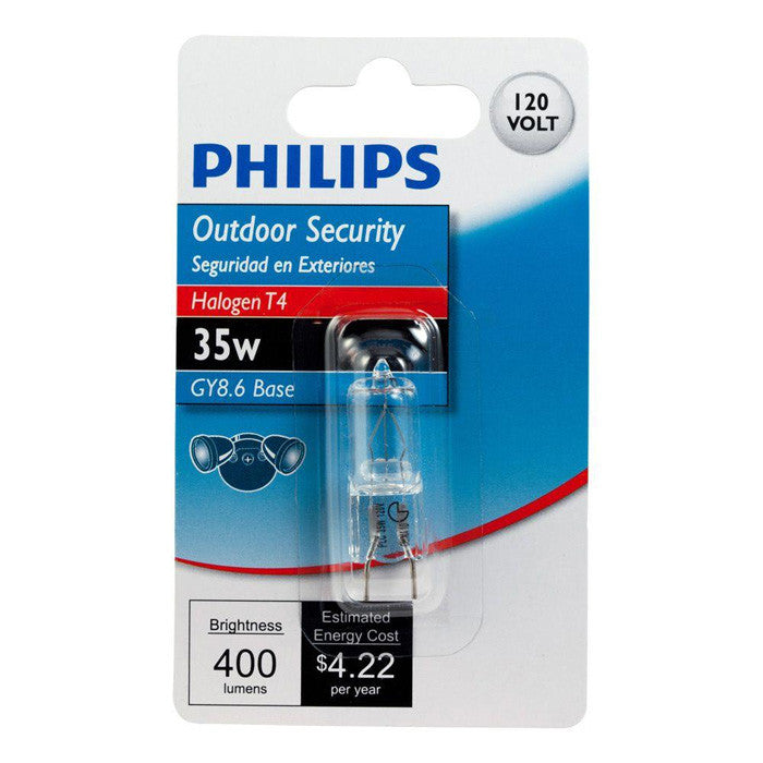 Philips 35W 120V T4 GY8.6 3000K Dimmable Light Bulb