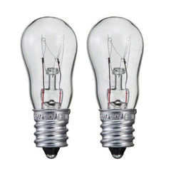 Philips 6w 120v S6 E12 Clear Incandescent Light Bulb - 2 pack