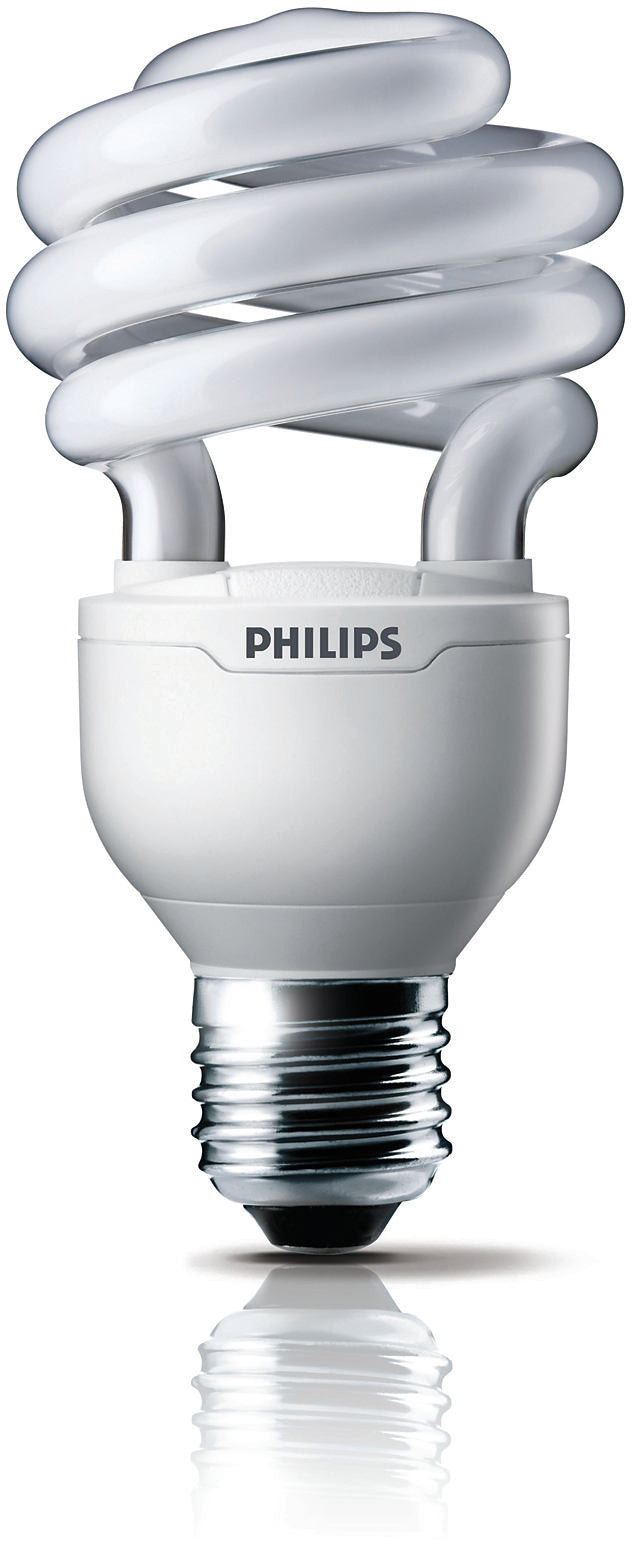 Philips 20w El/mDT Twist 2700k Warm White E26 Fluorescent Light Bulb