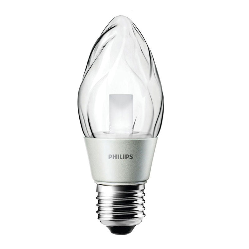 Philips 3 watts 120 volts Flame dimmable chandelier Warm White light bulb