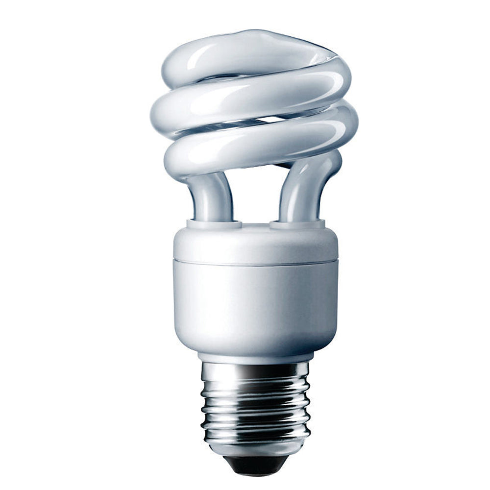 Philips 9w Twist 4100k Cool White EL/mdT3 E26 Fluorescent Light Bulb