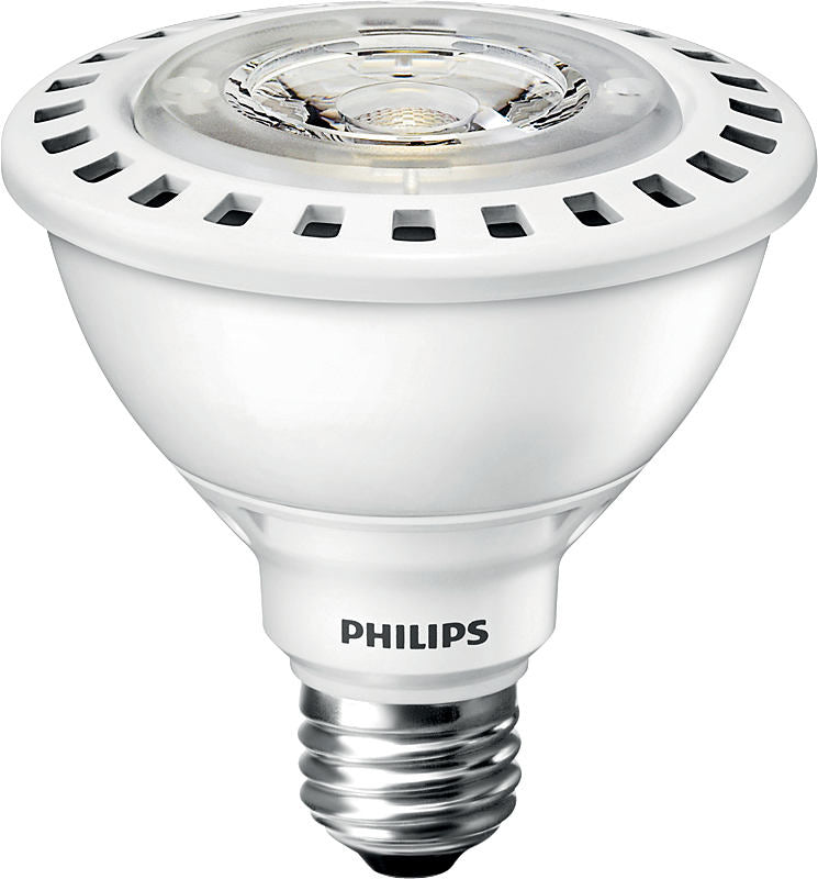 Philips Crisp White 12.5W PAR30S LED 3000K White light Flood 25D Bulb